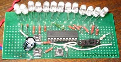 Светодиодная гирлянда. Световые эффекты на микроконтроллере.