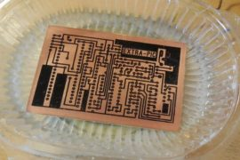 Технология травления печатных плат