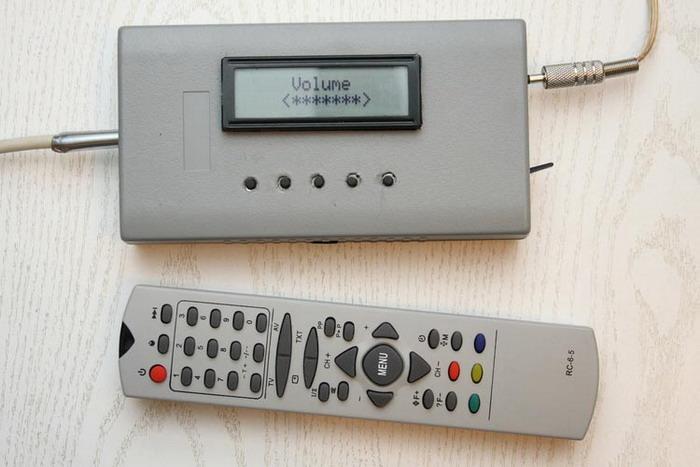 Темброблок на микроконтроллере ATmega8, аудиопроцессор TDA7313