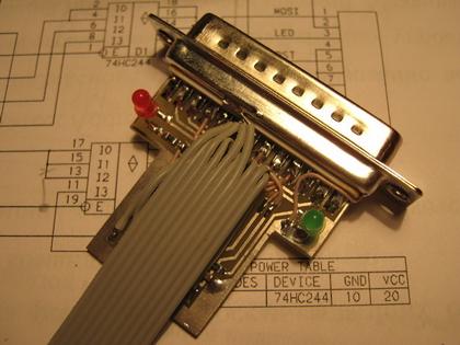 Рисунок 12. Распайка общего провода шлейфа