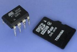 Микроконтроллер ATtiny и MicroSD