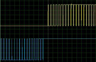 ШИМ на выходе микроконтроллере