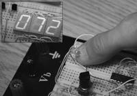 Схема измерителя пульса