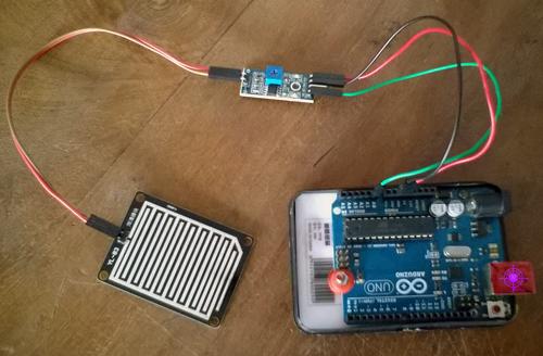 Датчик дождя на Arduino