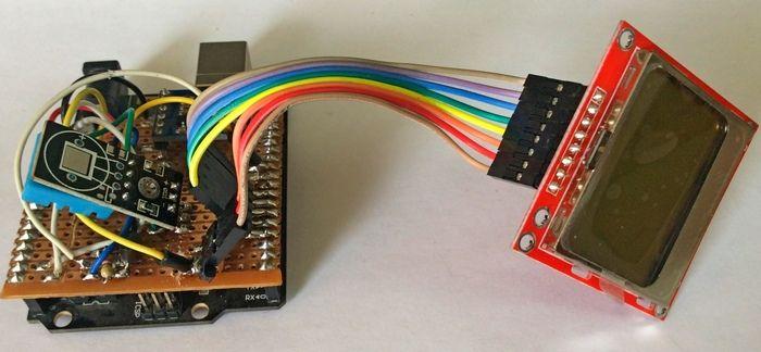 Проект метеостанции на Arduino