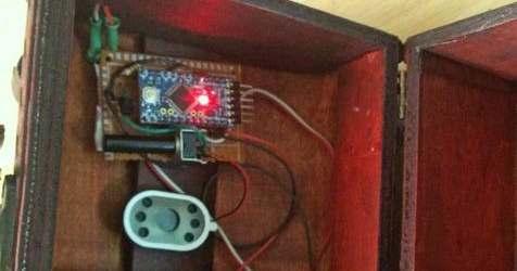 Музыкальная шкатулка на Arduino